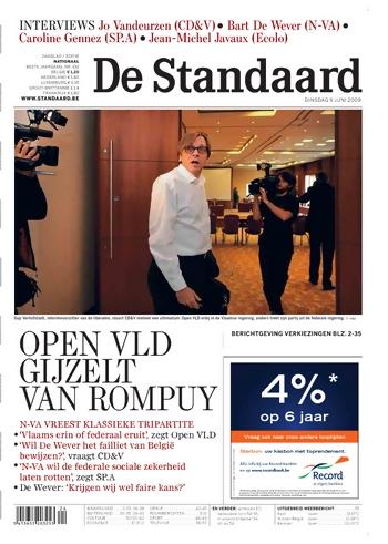 Cover De Standaard