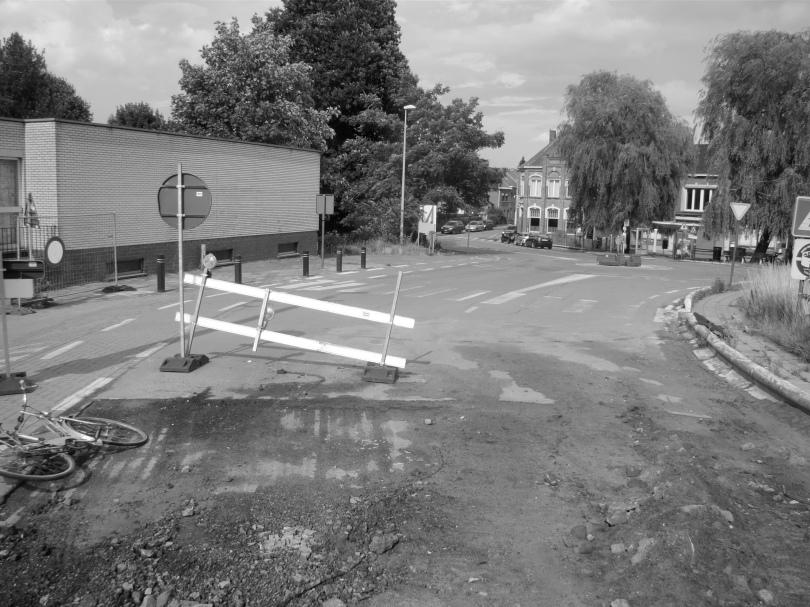 In Melle leidt de weg naar het einde van de wereld.