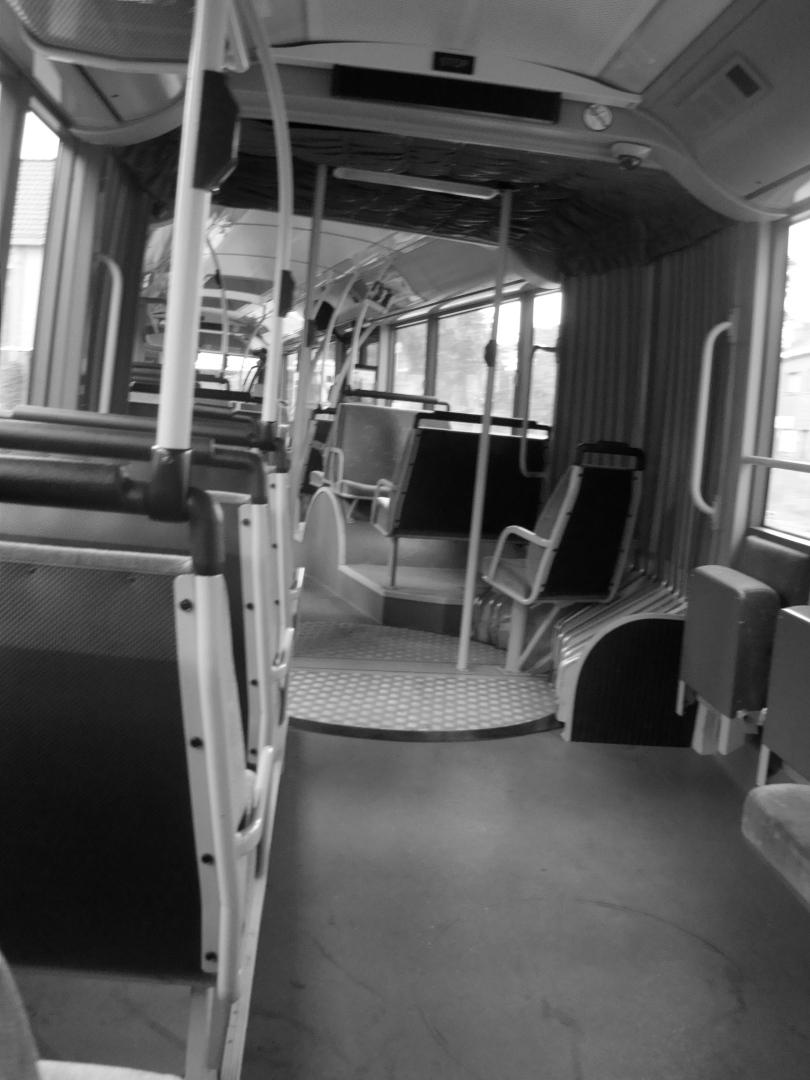 De bus richting Volvo Cars munt uit in ledigheid. Lourdes blijft populairder als bestemming.