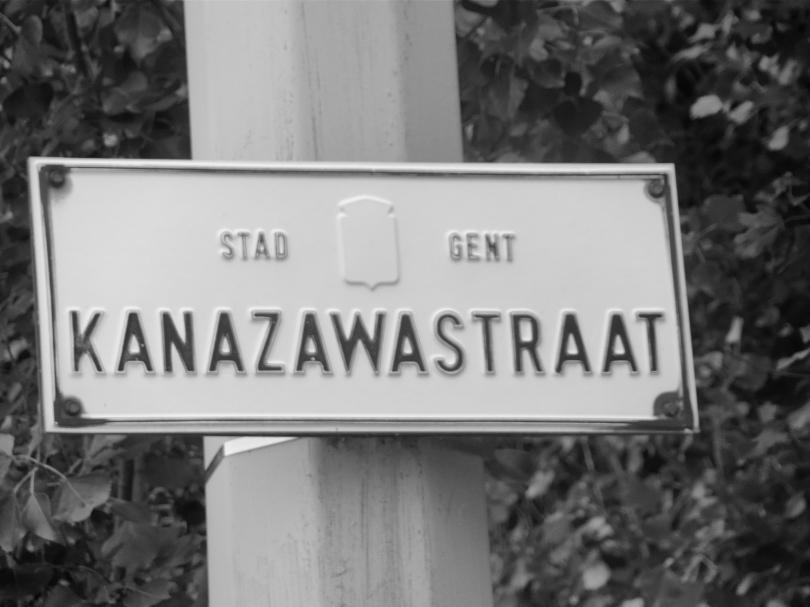 Het stadsbestuur van Gent lijkt te vergeten dat niet iedere burger weet dat het Japanse Kanazawa een zusterstad is van Gent.