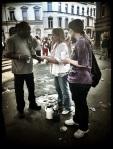 Helemaal uit de Verenigde Staten zijn christenen overgekomen om te praten over de here Jezus.