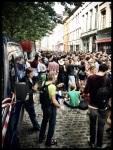 De afterparty bij Sint-Jacobs neemt iedere dag in omvang toe. Op den duur zal de Vlasmarkt louter nog het voorprogramma zijn.